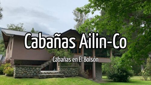 Cabañas Ailin-Co